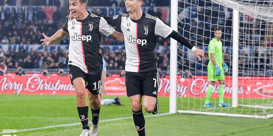 VIDEO - Cristiano Ronaldo Cetak Gol Enteng, Kiper Lazio Cuma Bengong Lihat Bola