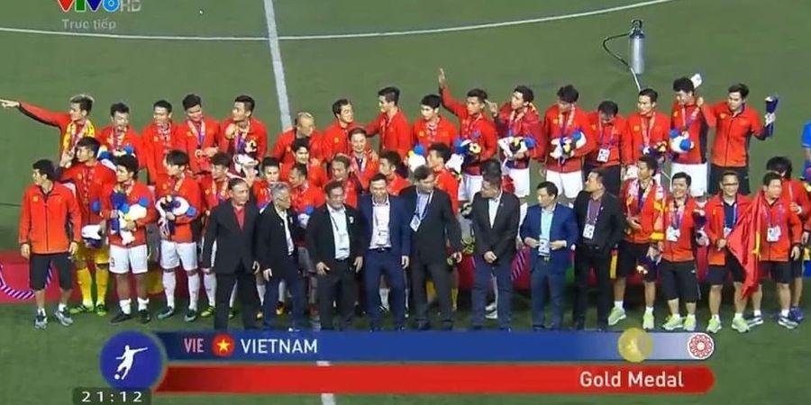 Rekap Sepak Bola SEA Games 2019: Vietnam Emas, Indonesia Perak, Myanmar Perunggu