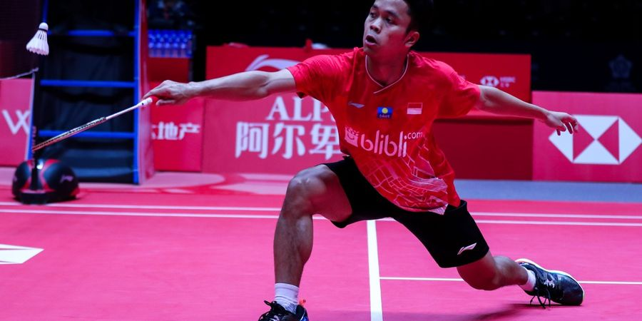 BWF World Tour Finals 2019 -  Axelsen Cedera, Anthony Juara Grup B