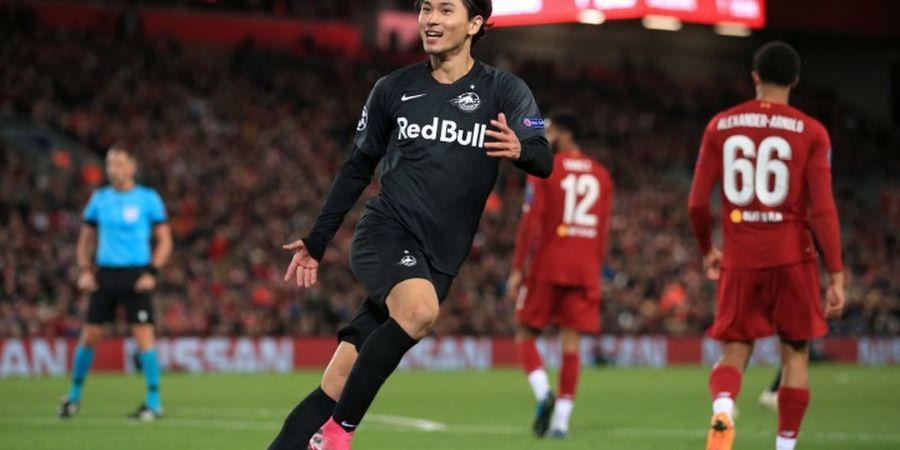 Jika Gabung Liverpool, Apakah Takumi Minamino Bisa Main di Liga Champions?