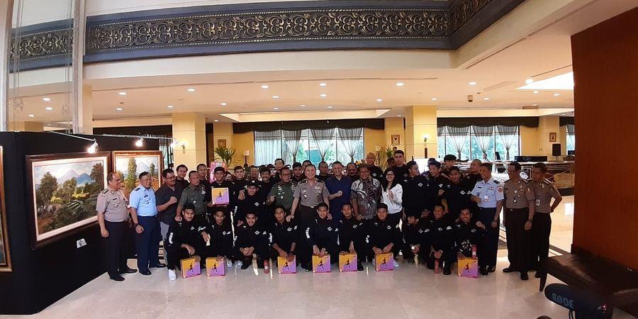 Menemui Skuad Timnas U-22 Indonesia, PSSI Sampaikan Apresiasi