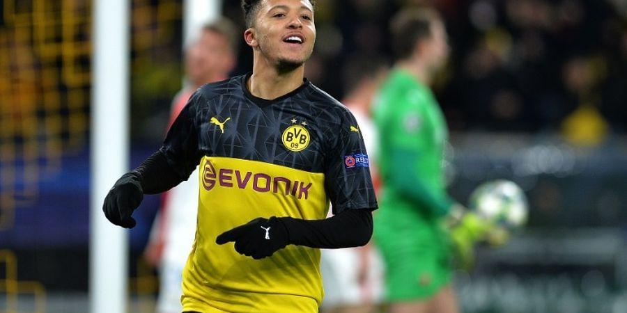 Drama Transfer Jadon Sancho, Dortmund Ultimatum Man United dengan Gaji Tinggi