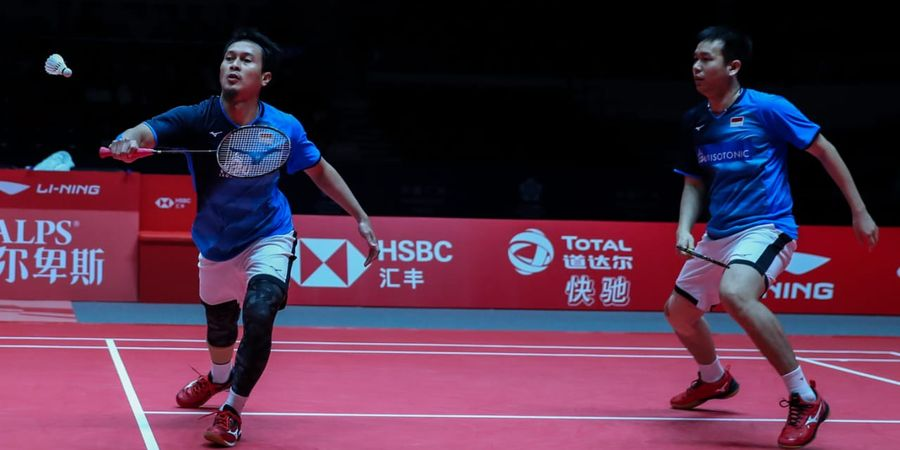 BWF World Tour Finals 2019 - Balaskan Dendam Minions, Ahsan/Hendra Amankan Satu Gelar