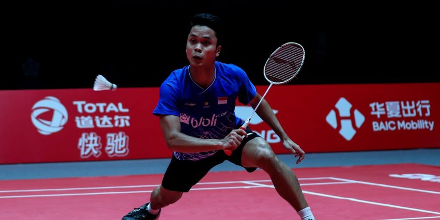 Jadi Runner-Up BWF World Tour Finals 2019, Peringkat Anthony Ginting Naik Segini!