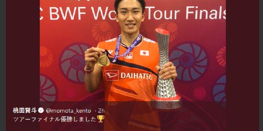 Juarai Malaysia Masters 2020, Hadiah Kento Momota Senilai Mobil Avanza