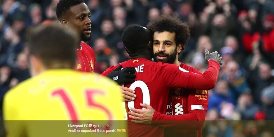 Hasil dan Klasemen Liga Inggris - Liverpool 10+ di Puncak, Chelsea Kembali Raih Hasil Negatif