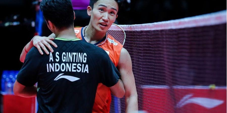Kento Momota Petik Hal Positif Usai Kalahkan Anthony Sinisuka Ginting