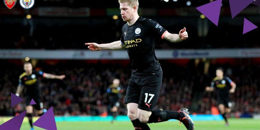 Liverpool Kalah dari Watford, Kevin De Bruyne Beri Apresiasi