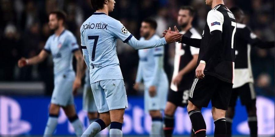 Joao Felix Ingin Seklub dengan Cristiano Ronaldo, Kode buat Juventus?