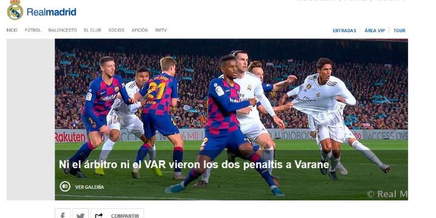 Bikin Deg-degan! Ini 5 Momen Ikonik Barcelona Vs Real Madrid