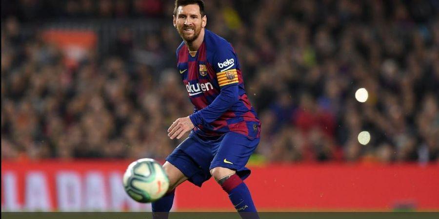 Lionel Messi Sebut Dua Gol Terbaiknya, Semua ke Gawang Manchester United
