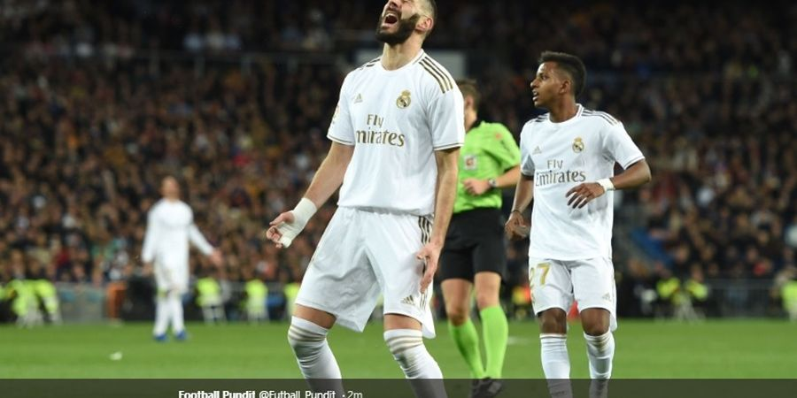 Bukan di Real Madrid, Karim Benzema Akan Pensiun di Tim Papan Tengah Liga Prancis