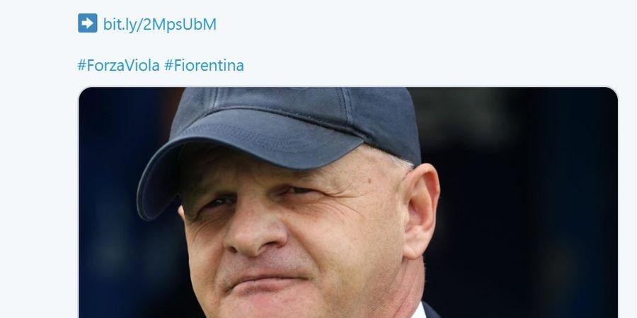 Resmi, Fiorentina Tunjuk Giuseppe Iachini Gantikan Vincenzo Montella