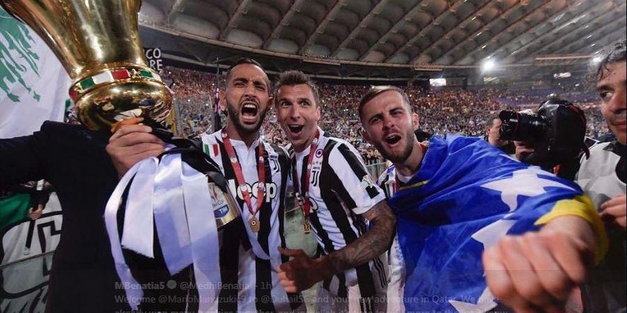 Reuni Eks Juventus, Benatia Sambut Mandzukic: Insyaallah Kita Juara Lagi