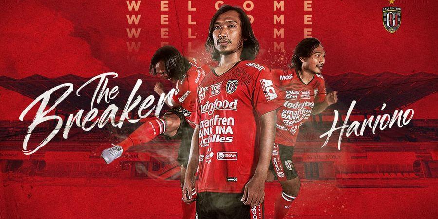 Gabung Bali United, Hariono Disebut Dias Angga Sosok Loyal dan Spartan