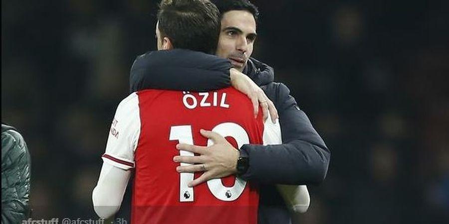 Manfaatkan Arteta untuk Potong Gaji Pemain, Arsenal Dikecam Agen Oezil