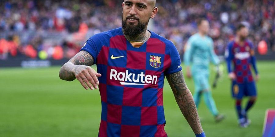 Jadi Tumbal untuk Boyong Lautaro, Vidal Ingin Tinggal di Barcelona