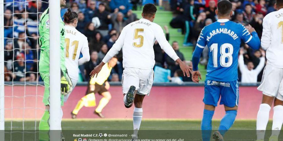Hasil Liga Spanyol - Real Madrid Menangi Derbi atas Getafe 3 Gol Tanpa Balas