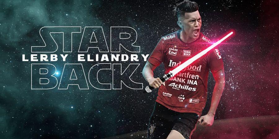 Lerby Eliandry Resmi Kembali Memperkuat Bali United
