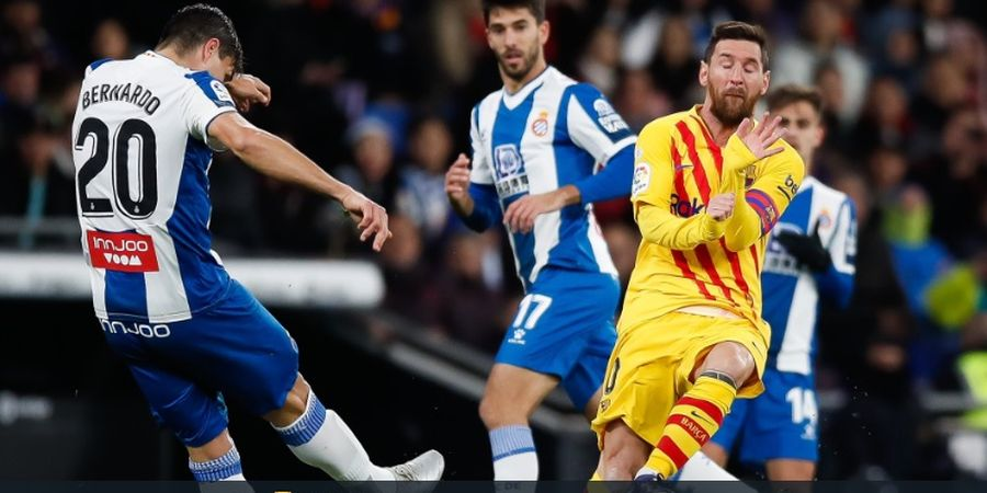 Lionel Messi Tak Pernah Baper Hadapi Tekel Lawan