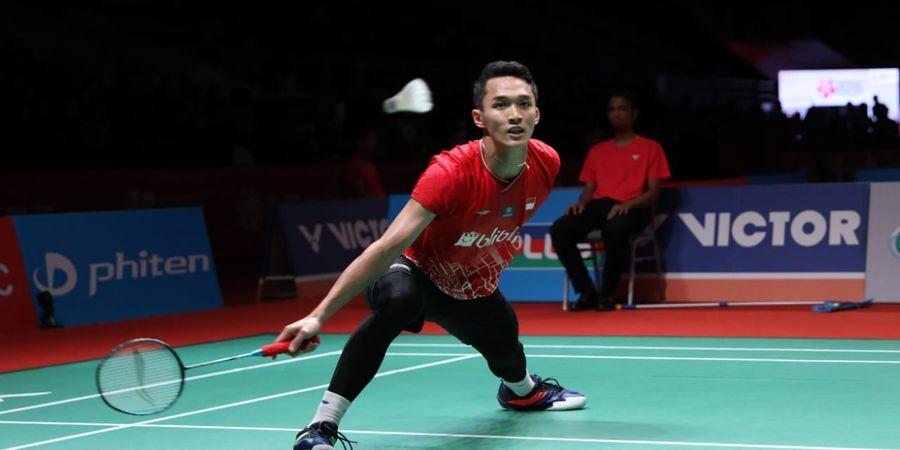 Hasil Kejuaraan Beregu Asia 2020 - Jonatan Christie Gagal Sumbang Poin Setelah Kalah dari Son Wan-ho