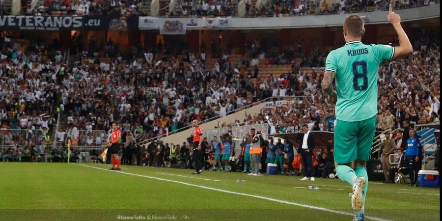 Real Madrid Vs Man City - Kroos Singgung Urusan Belum Selesai dengan Guardiola