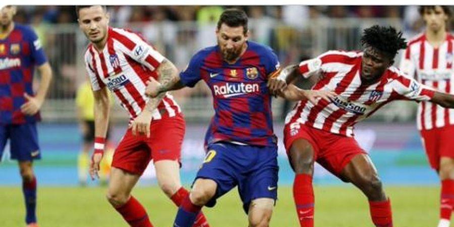 Meski Barcelona Kalah, Lionel Messi Sukses Gocek Pemain Atletico Madrid 10 Kali