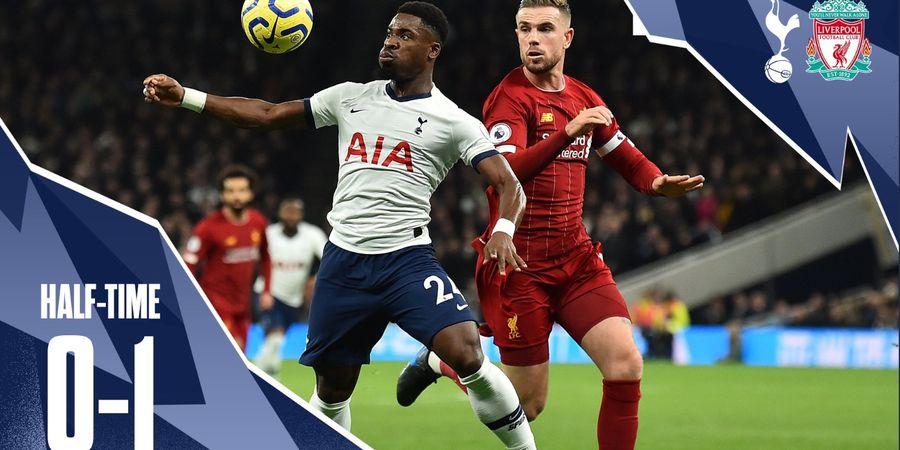 Babak I Tottenham vs Liverpool - Roberto Firmino Taklukkan Pertahanan Solid Spurs