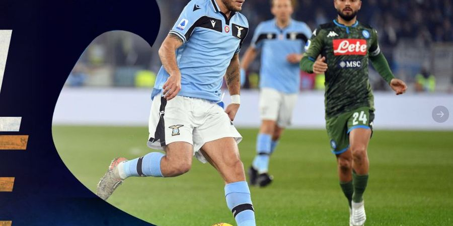 Hasil Liga Italia - Immobile Bawa Lazio Cetak Sejarah Usai Kalahkan Napoli