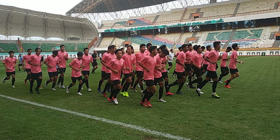 Pesan Shin Tae-yong dari Latihan Timnas U-19 Indonesia di Thailand