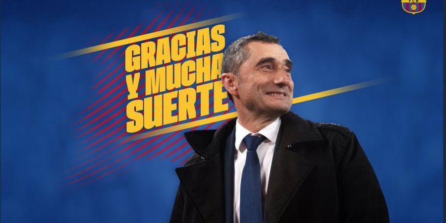 5 Statistik Mentereng Valverde di Barcelona, Cuma Memble di Liga Champions