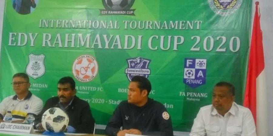 Edy Rahmayadi Cup 2020, Tiga Tim Luar Negeri Ikut Bertanding