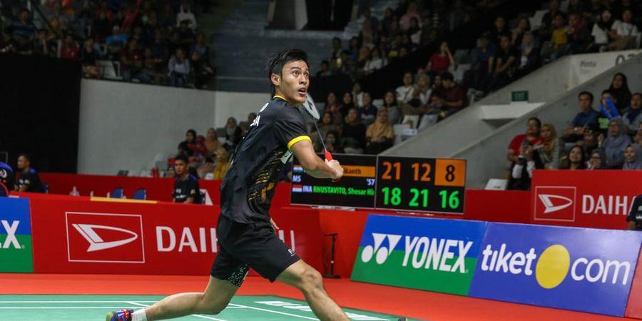 Hasil Indonesia Masters 2020 - Langkah Shesar Terhenti di Tangan Axelsen
