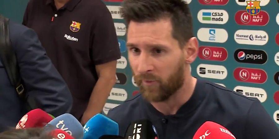 Pesan Lionel Messi kepada Ernesto Valverde yang Dipecat Barcelona