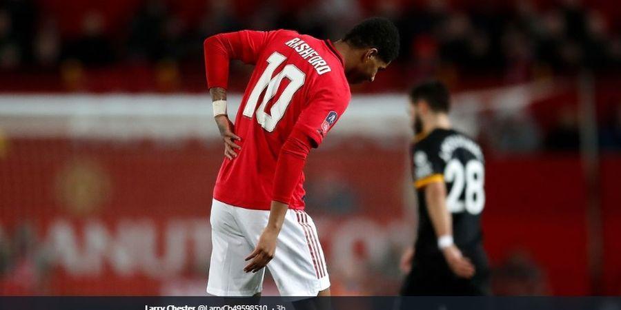 Rashford Kemungkinan Akan Absen di Laga Man United Kontra Liverpool