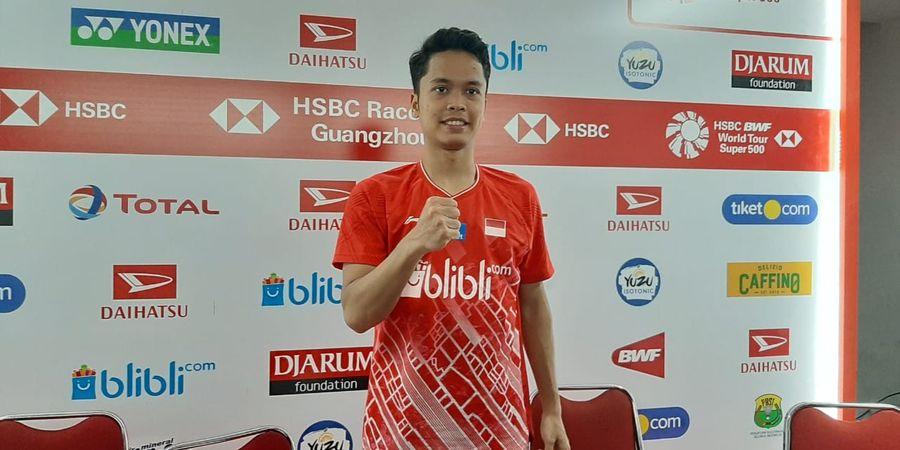 Indonesia Masters 2020 - Anthony Ginting Sempat Merasa Segan Melawan Tommy Sugiarto