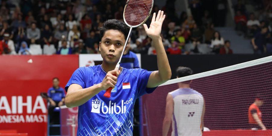 Indonesia Masters 2020 - Anthony Ginting Akui Semua Pemain Menggebu-gebu untuk Lolos Olimpiade 2020