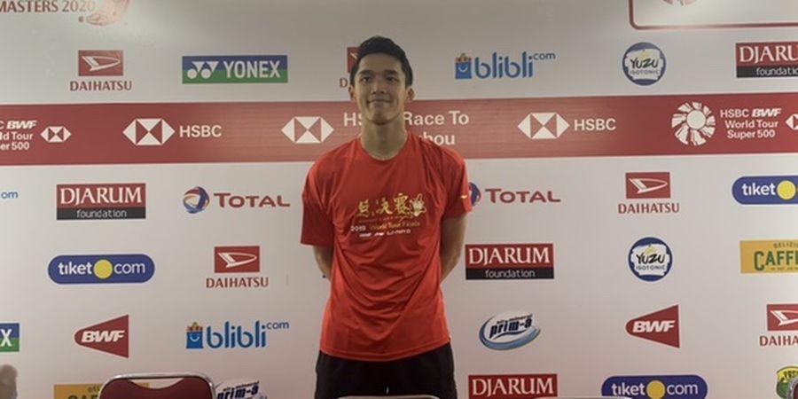 Indonesia Masters 2020 - Jonatan Christie Manfaatkan Kegugupan Lawan