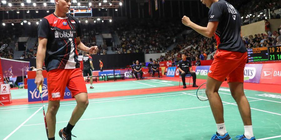 Indonesia Masters 2020 - Fajar/Rian Bagikan Tips jika Jalani Pertandingan pada Malam Hari