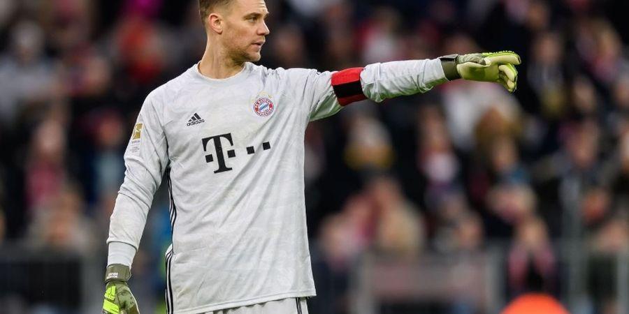 VIDEO - Penyelamatan Super Manuel Neuer, Cuma Pakai Satu Tangan