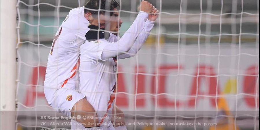 Hasil Lengkap Coppa Italia, AS Roma Tantang Juventus di Perempat Final