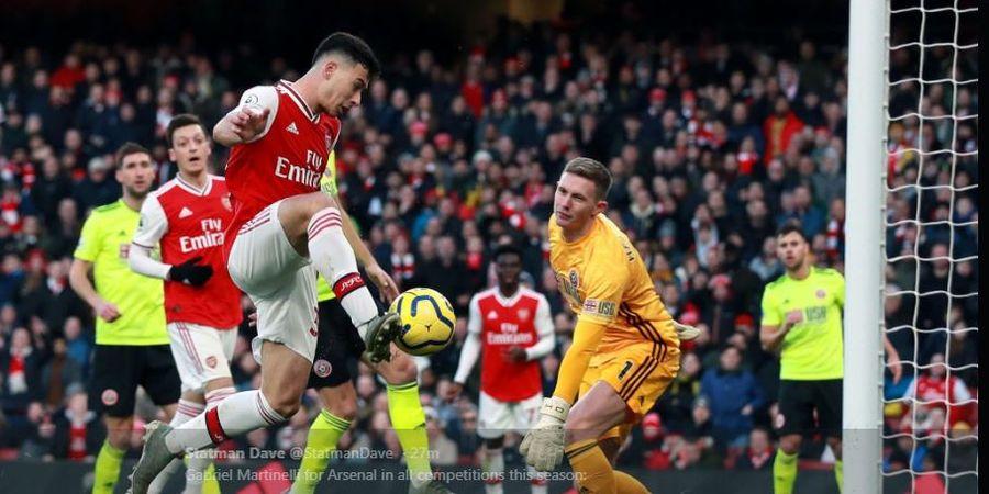 Hasil Liga Inggris - Wonderkid 18 Tahun Bikin Gol, Arsenal Ditahan Sheffield