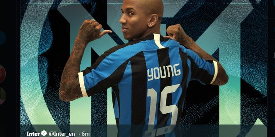 RESMI, Ashley Young Milik Inter Milan