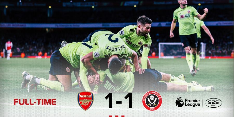 Highlight Arsenal vs Sheffield United - Menderita Tanpa Auba