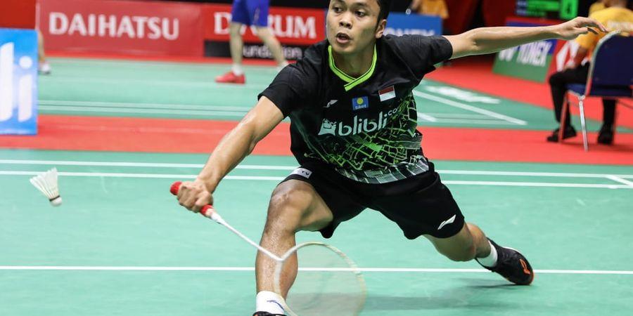 Hasil Final Indonesia Masters 2020 - Anthony Juara Usai Buyarkan Juara Bertahan