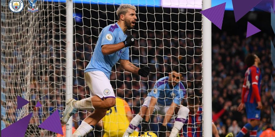 Highlight Manchester City vs Crystal Palace - Gol Ke-251 Sergio Aguero