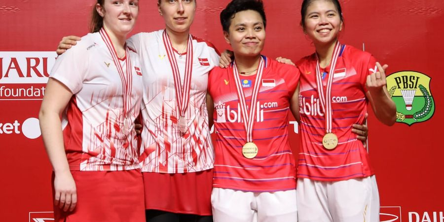 Komentar Wakil Denmark Setelah Dikalahkan Greysia/Apriyani di Final Indonesia Masters 2020