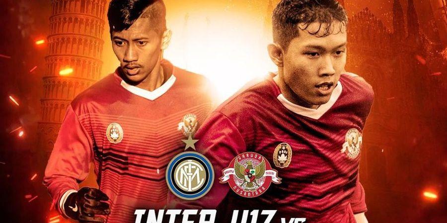 Link Live Streaming Garuda Select Vs Inter Milan U-17, Laga Ketiga di Italia