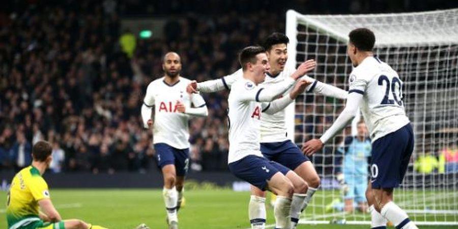 Hasil Liga Inggris - Son Heung-Min Lanjutkan Hobi Bully, Tottenham Naik 2 Posisi