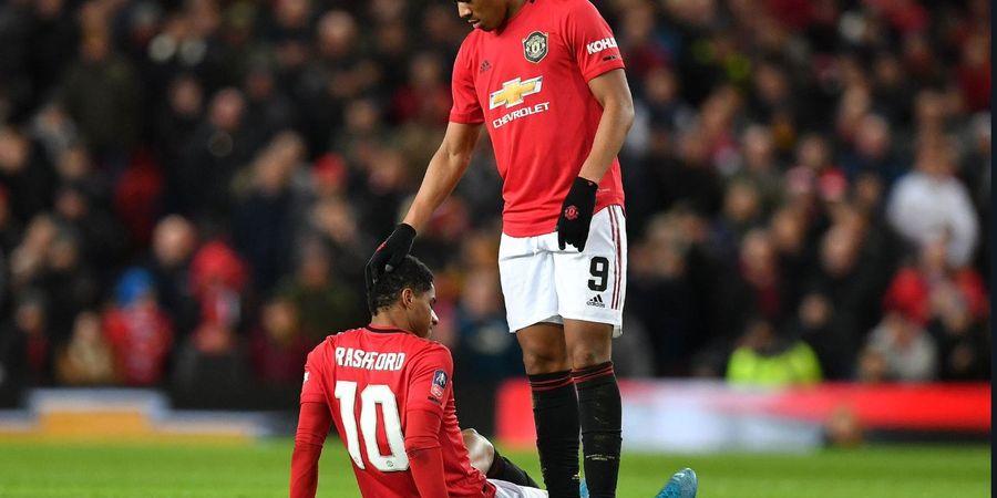 Cetak 20 Gol Musim Ini, Legenda Man United Kecewa Performa Rashford-Martial
